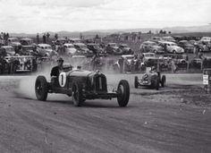 Alf Barrett, Alfa Romeo 8C2300 Monza, Australian Grand Prix, Bathurst 1947 (Byron Gunther)...