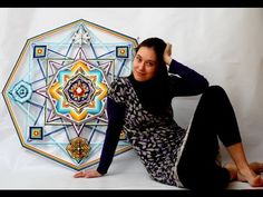 """Мастер класс по плетению мандалы """"Ojo de Dios"""" от Юлии Казариной - YouTube"""