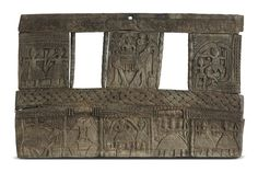 This window made of teak wood is from #HimachalPradesh, known for its homes made in stone and wood. This one has low relief carving - depicting various scenes This is seen from level 3 and 4, around the artwork, #Touche by #RajeevSethi, #ca18th19thCentury