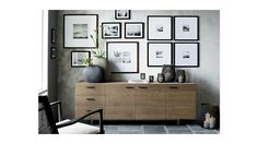"""C&B Aspen Sideboard 89"""" long x 20"""" deep x 28"""" tall (a bit short for serving - new legs? can Dave hang on the wall and take the legs off??)   $2599"""