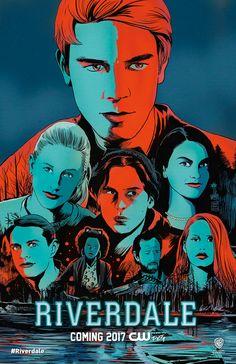 Riverdale poster art by Francesco Francavilla//Francesco Francavilla/F/ Comic Art Community GALLERY OF COMIC ART