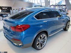 BMW X4 at BMW Welt in Munich