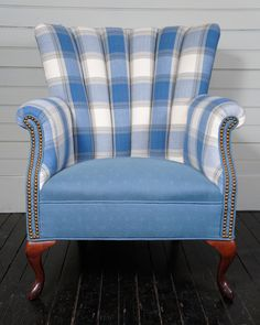 Channel Back Armchairs | From a unique collection of antique and modern lounge chairs at http://www.1stdibs.com/furniture/seating/lounge-chairs/