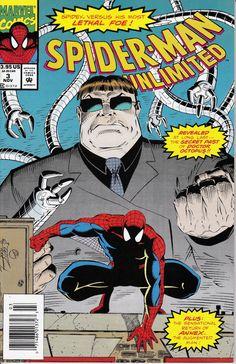 Spider-Man Unlimited (Marvel Comics, 1992) #3 Marvel Comic books  coverPeter Parker web