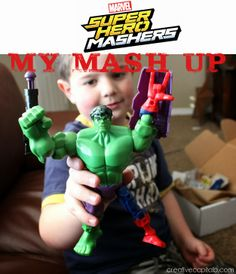 Capital B: Hasbro Marvel Super Hero Mashers Review {These Rock!}