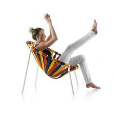Carnival theme: masked and colourful pieces: Lastika chair, Velichko Velikov - Lagostudio, Lago, 2011 @lagofurniture