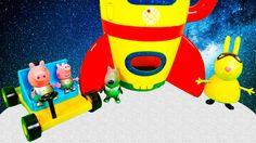 Свинки Пеппа полет на ракете