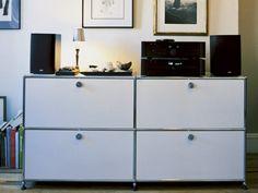 Buffet composable en métal USM HALLER HOME | Buffet - USM Modular Furniture