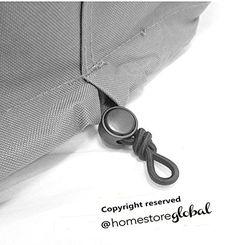 HomeStore Global moyen Housse de protection pour salon de jardin – 200 (l) X 180 (p) X 92(h)cm – Épais et de haute qualité durable 600D…