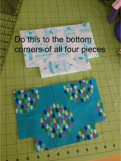 """I am excited to share the pattern for my """"Favorite Zipper Pouch"""". I needed a few gifts and whipped up some zipper pouches. I have made lots and lots of zipper bags. This is the one I …"""