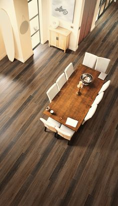 Coretec Plus sure has some beautiful wood-look floors! Plus, they're durable, waterproof, and have a lifetime warranty!