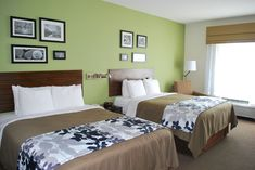 Two Queen Size Beds- Spacious Modern and Clean