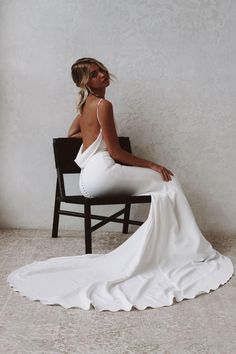 Stunning Wedding Dresses, Affordable Wedding Dresses, Dream Wedding Dresses, Ceremony Dresses, Wedding Ceremony, Archie, Classy Dress, Bridal Collection, Dress Making