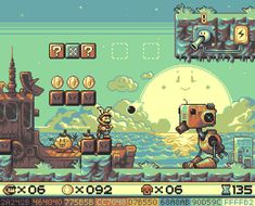 Super Mario Land 2 - Robot Zone (mockup by andylittle Game Design, Game Level Design, Super Mario Kunst, Super Mario Art, 8 Bits, Pixel Art Games, Pokemon, Environment Concept Art, Video Game Art