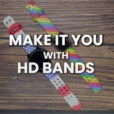 Our new HD Bands offer another level of customization with unique prints, patterns, and styles! Check out our brand-new collections #MakeItYou Shop via Link in Bio Sports Organization, Leather Watch Bands, Stainless Steel Watch, Watch Brands, Cool Watches, Collections, Make It Yourself, Patterns, Link