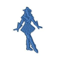 Drill Team machine embroidery design 4x4 by KeepsMeInStitches, $3.99