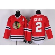 7b9aaf68e Reebok Chicago Blackhawks  2 Duncan Keith Red Ice Stitched Hockey  Jersey Duncan Keith Jersey
