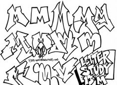 m25 Graffiti Text, Graffiti Letter I, Graffiti Alphabet Styles, Graffiti Lettering Fonts, Graffiti Writing, Cool Lettering, Graffiti Designs, Tagging Letters, Graffiti Wallpaper