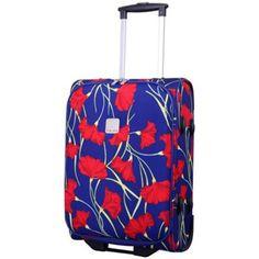 Tripp Poppy Cabin 2-Wheel Suitcase Indigo/Coral- at Debenhams.com