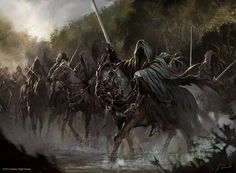The Lord Of The Rings, Nazgûl, Concept Art, Horse Wallpapers HD ...