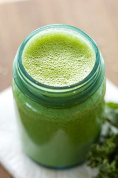 Mean, Clean and Green Smoothie ~raw, vegan~