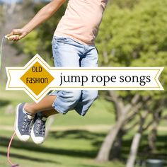 Old-Fashion Jump Rope Songs - If you have little ones in your life please take a moment to teach them some of these old fashion jump rope songs, you will be making wonderful memories! http://oursimplelife-sc.com