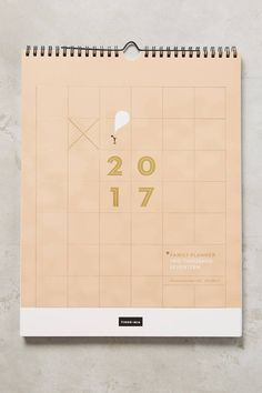 Anthropologie Household 2017 Planner on Shopstyle.
