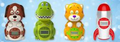 Big Red Rooster Products alarm clocks sound machines baby kids children