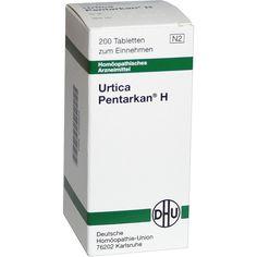 URTICA PENTARKAN H Tabletten:   Packungsinhalt: 200 St Tabletten PZN: 00180924 Hersteller: DHU-Arzneimittel GmbH & Co. KG Preis: 6,84 EUR…