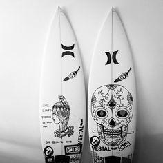 posca art surfboards - Google Search