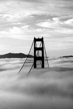 black & white photo san francisco