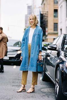 10 ways to wear a denim coat | Kittenhood