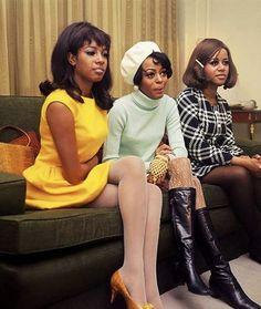 1960s Fashion: What Did Women Wear? 1960s Fashion Women, Black Women Fashion, 70s Fashion, Vintage Fashion, Fashion History, Classic Fashion, Fashion Tips, African American Fashion, 70s Inspired Fashion