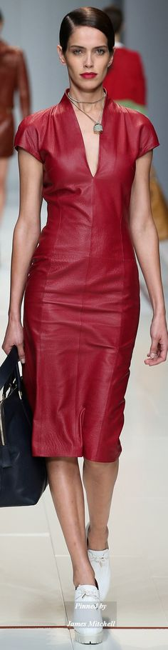 TRUSSARDI Collection Spring 2015 Ready-to-Wear - pin courtesy of James Mitchell