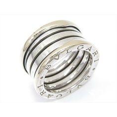 60025ad87 eBay #Sponsored Auth BVLGARI B-zero 1 Be Zero One ring M size K18WG (750) white  gold Used