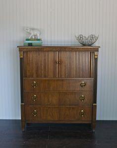 Pristine Hollywood Regency Dresser by Baker  by ExeterFields, $595.00