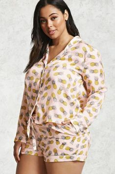 e14fc7b350a96 10 Cute and Comfy Sleepwear Sets for Summer. Pineapple PajamasPineapple  ClothesPineapple PrintPlus Size ...