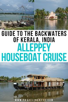Visit the tropical paradise of Kerala and its vast network of canals and lakes that make up the backwaters in southern India! The best way to experience the backwaters of Kerala is to spend the night on an Alleppey houseboat cruise. In this guide I provide all the information you need to enjoy a night on the Alleppey backwaters! #kerala #alleppey #indiatravel #indiatrip Tokyo Japan Travel, Japan Travel Tips, China Travel, Bali Travel, India Travel, Travel Usa, Cruise Destinations, Argentina Travel, Worldwide Travel