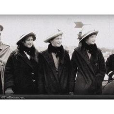 Grand Duchess Maria, Grand Duchess Olga and Grand Duchess Tatiana❤️ #GDOTMA #TheImperialChildren