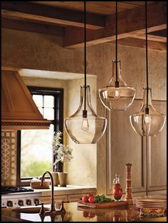 LOVE these hanging pendants!!!!