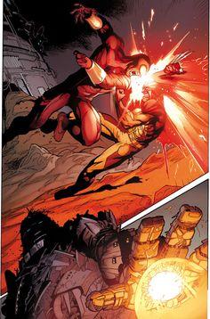 X-MEN: SCHISM #5 Preview 1 by Adam Kubert