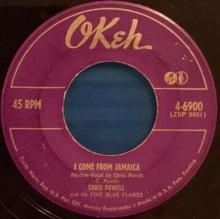I COME FROM JAMAICA / BLUE BOY | CHRIS POWELL AND HIS FIVE BLUE FLAMES | Min Bid: $80.00 AUD | 7 inch single | music4collectors.com