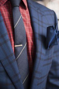 Pattern Mixing Suit 2