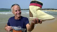 """UGG BOOTS - Aussie Ugg boot inventor Shane Stedman created the boots in 1973 to keep surfers' feet warm in chilly Australian conditions. A lifelong surfer, Mr Stedman, now 69, lives at beachside Mona Vale in Sydney. """"The sea is bloody cold in the Aussie winter ... I used to wear football jerseys to keep my feet warm,"""" Mr Stedman said. But his sheepskin invention solved the problem. Ugg boots have come a long way since then, and are now a $799.04 million-a-year enterprise."""