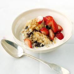 Spoon into this hot breakfast full of protein, fiber, calcium, and vitamins D and B12.