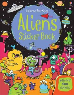 Usborne - Aliens Sticker Activities Book