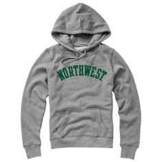 REDSHIRT WOMENS HOODED SWEATSHIRT $39.98  College apparel available at the book store at Northwest Missouri State University.