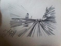 Speed spherografic handmade sketch BY me 2014. Suzanna Paulla Bomfim