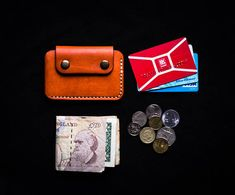 Check out this item in my Etsy shop https://www.etsy.com/listing/578122391/front-pocket-wallet-minimalist-coins