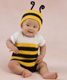 Little Baby Bee Playsuit
